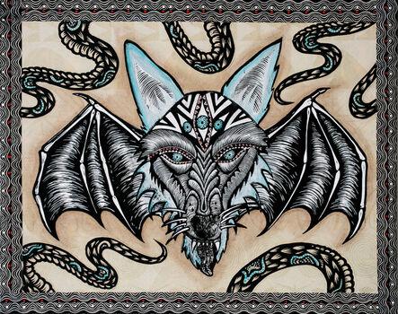 Dennis McNett, 'Wolfbat of the South', 2018