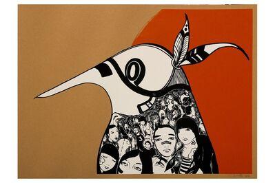 Lucy McLauchlan, 'Warrior Bird (Orange)', 2006