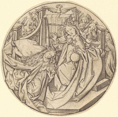 Master E.S., 'Christ Blessing the Virgin', ca. 1450