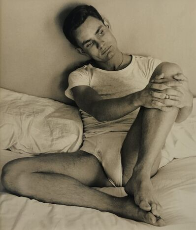 George Platt Lynes, '[Chuck Howard in Bed]', ca. 1950