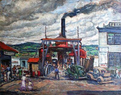 William Fisher, 'The Wyoming Ferry, Nyack', ca. 1941