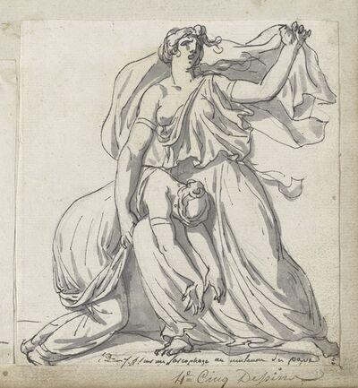 Jacques-Louis David, 'Niobe and Her Daughter', 1775/80