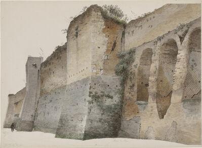 Josephus Augustus Knip, 'The Aurelian Wall in Rome', 1809-1812