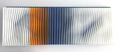 J. Margulis, ''Alpine Landscape' Geometric Abstract Sculpture', 2017