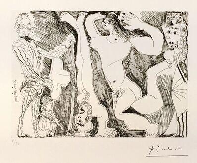Pablo Picasso, 'L'Acrobate, avec Femme et Spectateurs ', 1971