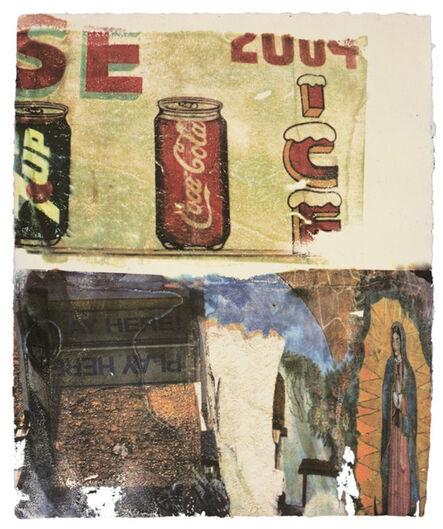 Robert Rauschenberg, 'L.A. Uncovered #3', 1998