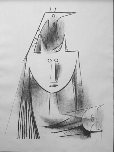 Wifredo Lam, 'Primitiv Gestalt (5501)', 1956