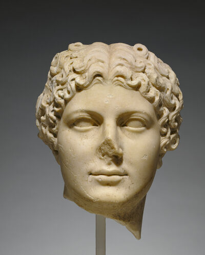 'Portrait Head of Agrippina the Younger',  about 50