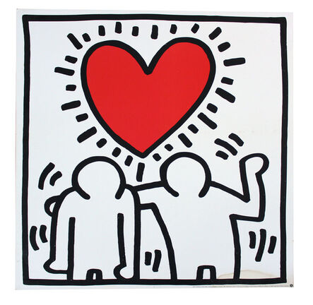 Keith Haring, 'Wedding Invitation', ca. 1993