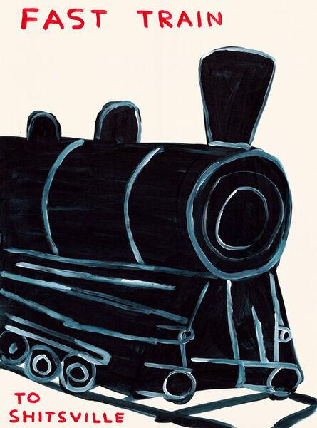 David Shrigley, 'Untitled (Fast Train to Shitsville)', 2020