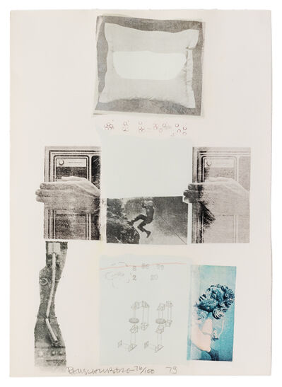 Robert Rauschenberg, 'Two Reasons Birds Sing (from The Suite of Nine Prints)', 1979