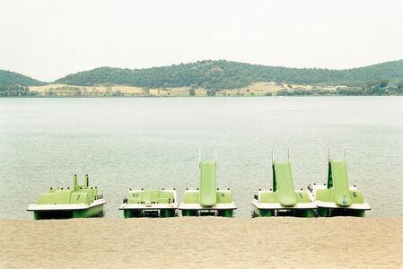 Grit Schwerdtfeger, 'Distanz: Tretboote', 2004