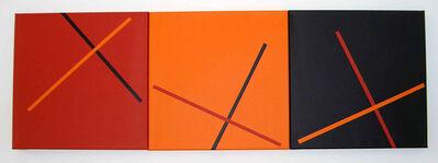 Vera Molnar, '3 croix', 1979-2008