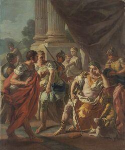 Francesco de Mura, 'Alexander Condemning False Praise', 1760s