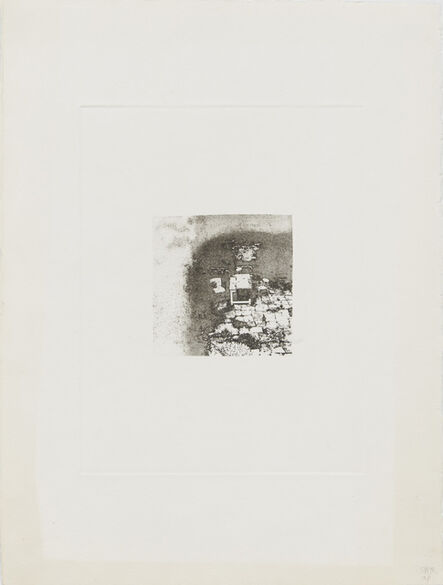 Shelagh Wakely, 'Another person's garden', 1975