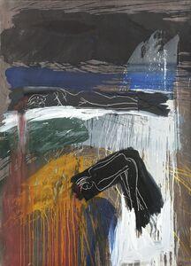 Bruce McLean, 'Untitled / Splash Painting', 1986