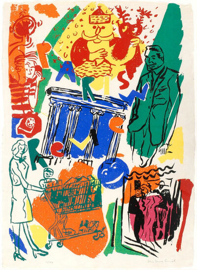 Kim MacConnel, 'Paris Review', 1982