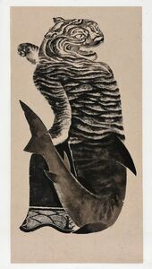 Wenzhi Zhang 张文智, 'Shark - Tiger Transformation 鲨化虎', 2019