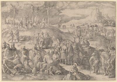 Lucas van Leyden, 'Golgotha', 1517