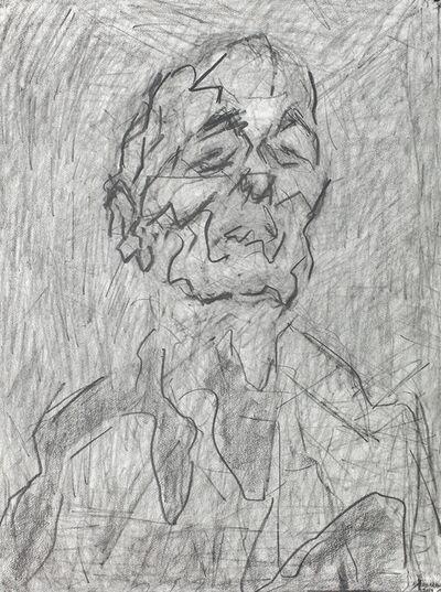 Frank Auerbach, 'Self portrait', 2017
