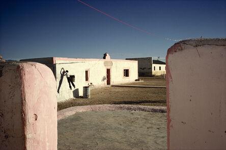 Alex Webb, 'Jumping, Boquillas, Mexico', 1979