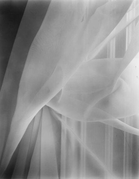 Nicholas Nixon, 'Our bedroom curtain, Brookline', 2017