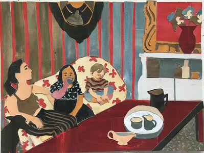 Elizabeth Bisbing, 'Red Stripes', 2008