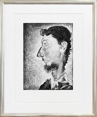Pablo Picasso, 'Portrait de Pierre Crommelynck', 1966