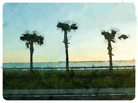 Anne M Bray, 'Gulf Sunset, FL', 2014