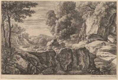 Herman van Swanevelt, 'The Small Waterfall'