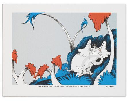 Dr. Seuss, 'Dr. Seuss, The Speck-Voice Was Talking!', 2000