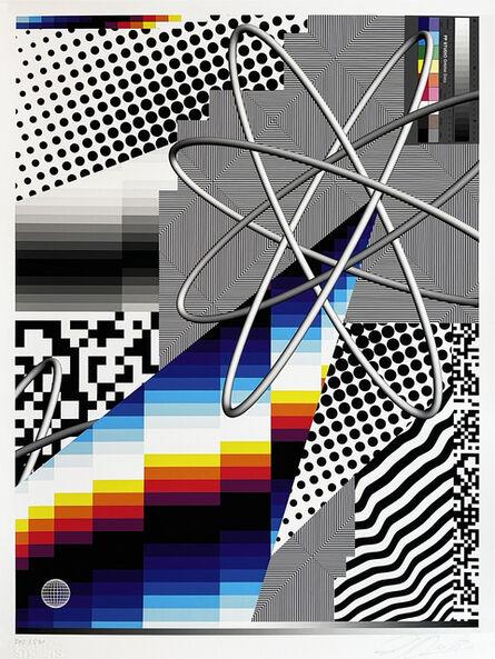 Felipe Pantone, ''Optichromie 122'', 2021