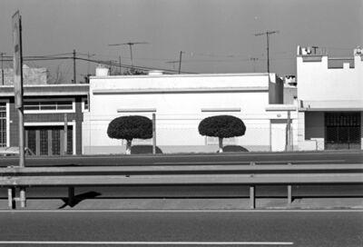 """Facundo de Zuviría, 'From the series """"Estampas Porteñas"""", """"Little house in the highway""""', 1984"""