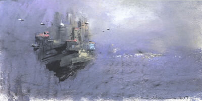 John Harris, 'Drifting City Sketch', 2017