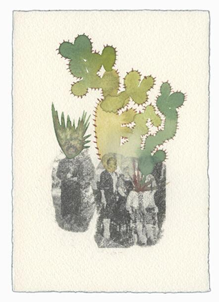 Ashley Mistriel, 'Blending In (Cactus People 7)', 2016