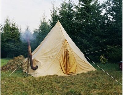 Keliy Anderson-Staley, 'Hanson's Tent at the Common Ground Fair, Unity, Maine', 2008
