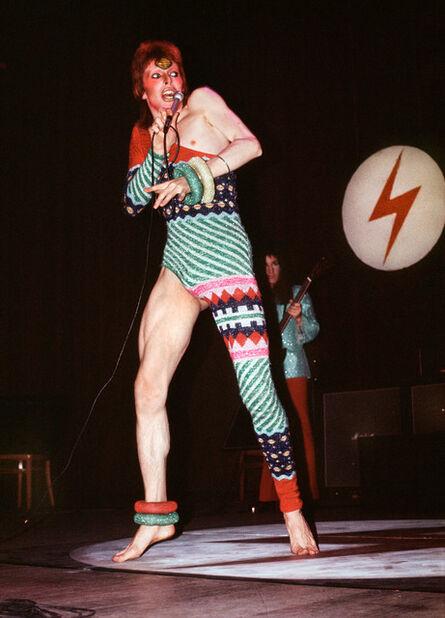 Mick Rock, 'Bowie in Kansai Yamamoto Leotard', 1973