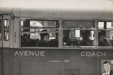 Roy DeCarava, 'Lonely Woman [on bus] (from New York 19)', 1960