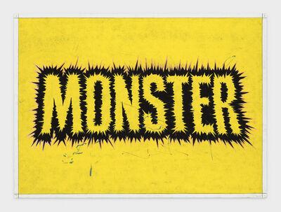 Andrew Brischler, 'MONSTER (Yellow Electricity) ', 2018-2019