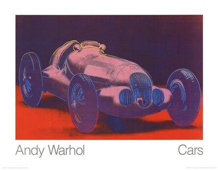 Andy Warhol, 'Mercedes W 125 (1937)', 1989