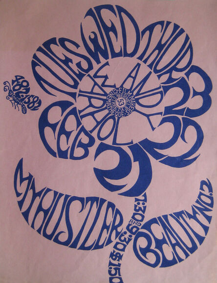 Andy Warhol, 'Andy Warhol: My Hustler & Beauty # 2: Film Maker's Cinematheque', 1967