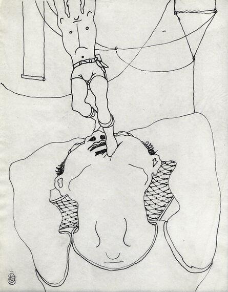 Jean Cocteau, 'TRAPEZISTES'