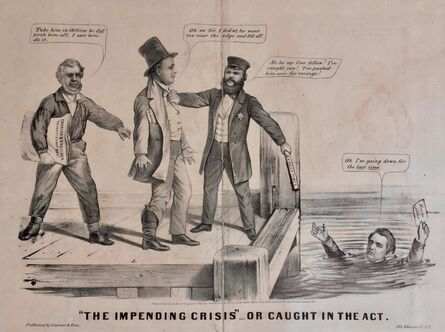 Currier & Ives, '1860 LINCOLN ELECTION CAMPAIGN', 1860