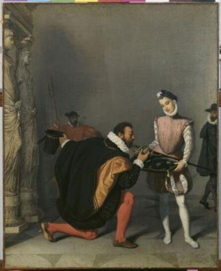 Jean-Auguste-Dominique Ingres, 'Don Pedro de Tolède baisant l'épée d'Henri IV (Don Pedro of Toledo kisses the sword of Henri IV)', 1819