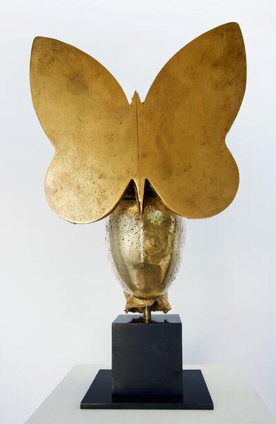 Manolo Valdés, 'Golden Butterfly II', 2017