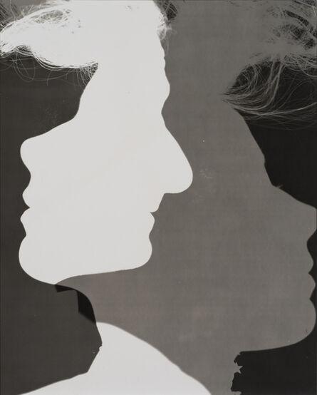 Erwin Blumenfeld, 'Shadowed Silhouettes, New York', ca. 1953