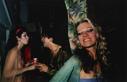 Nan Goldin, 'Cookie at Sharon's birthday party with Genaro and Lisette, Provincetown', 1976