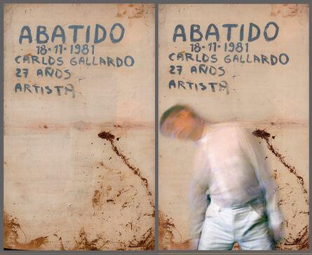 Carlos Gallardo, 'Abatido / A la Carne de Chile', 1981