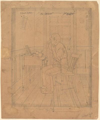 "Jefferson David Chalfant, 'H. Wood Sullivan - ""The Shaver""', probably 1890/1900"