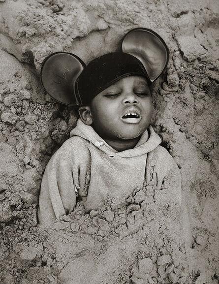 Arthur Tress, 'Boy in Mickey Mouse Hat, Coney Island, New York', 1968